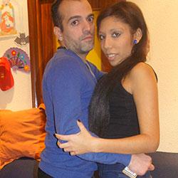 Alvaro sorprende a Susi ,presentandose en casa con un camara para grabar porno por primera vez