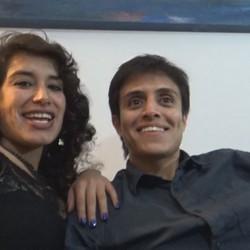 Tania y Alfredo  latinos liberales muy muy calientes.