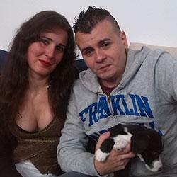 Adan y Eva, una pareja muy experimentada que quiere ser profesional en el porno