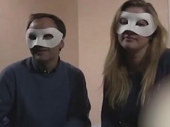 Melania y Oscar, la biologa y el sicologo ¡¡ les encanta FOLLAR y que les MIREN!!