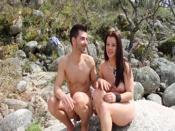 Estefania y Vera  pareja exhibicionista,Asi se folla en la España verde